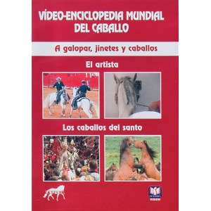 DVD VIDEO-ENCICLOPEDIA MUNDIAL DEL CABALLO