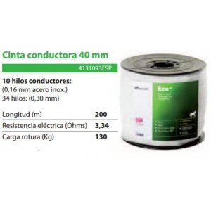 CINTA CONDUCTORA PASTORMATIC 40MM